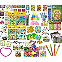 Primary Teachers Rewards,treasure box prizes.100 toys.PARTY BAG FILLERS