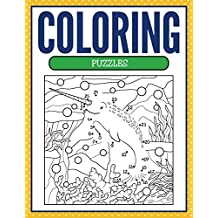 Coloring Puzzles: Coloring Books for Kids