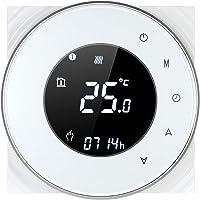 Decdeal Termostato Wi-Fi per Caldaia a Gas,Termostato Digitale,Programmabile Display LCD Touchscreen con…