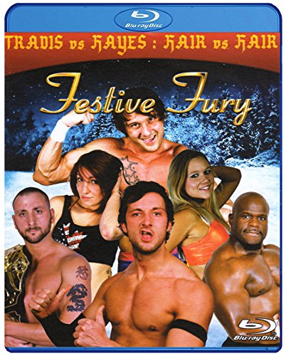 PCW - PRESTON CITY WRESTLING - Festive Fury 3 2013 BLU-RAY