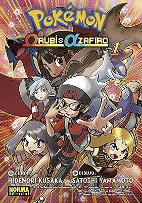 PokÉmon RubÍ Omega Alfa Zafiro 1 por Norma Comics