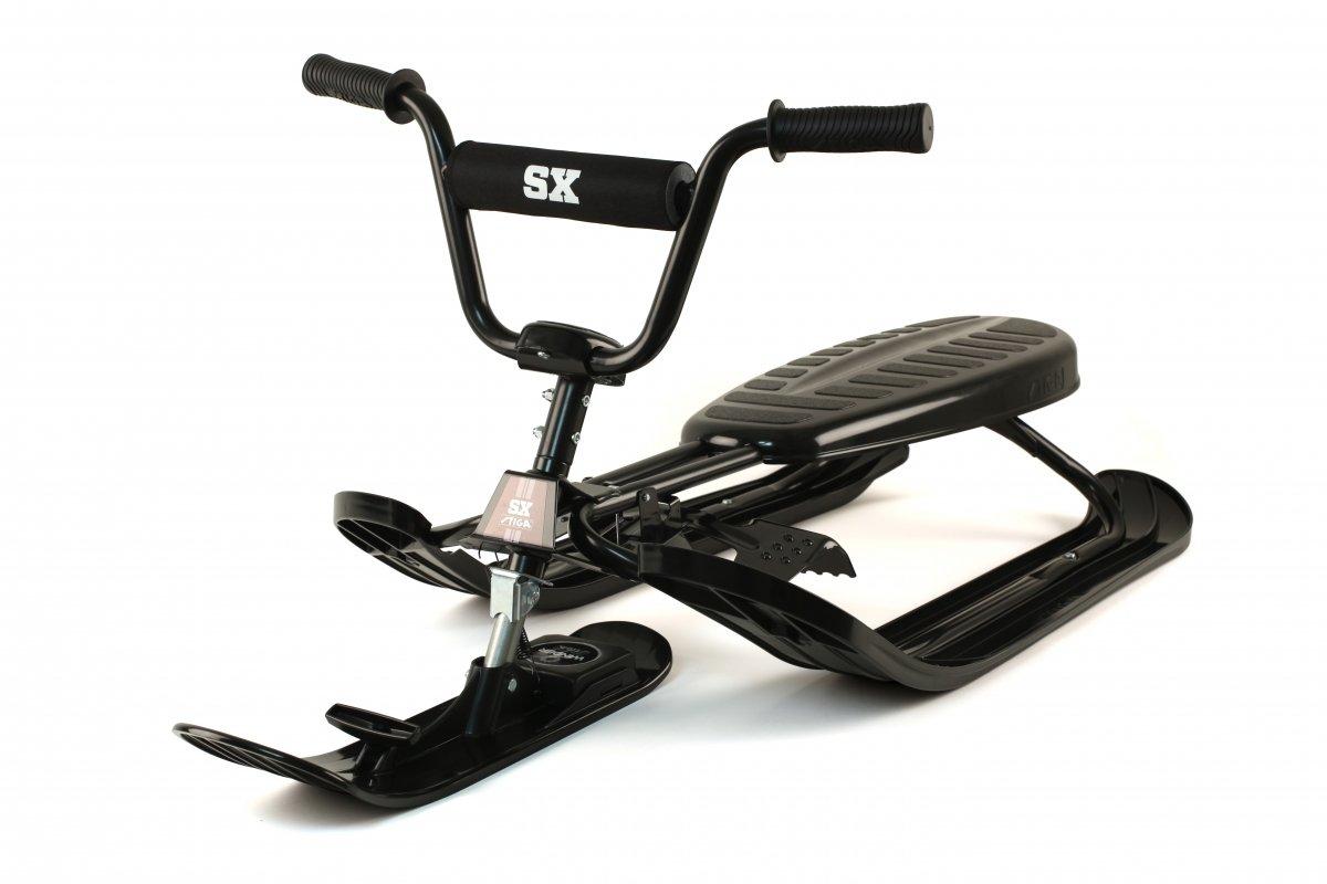 Gr/ün One Size STIGA Schlitten Snow Racer SX Pro Color Skiboblenkschlitten