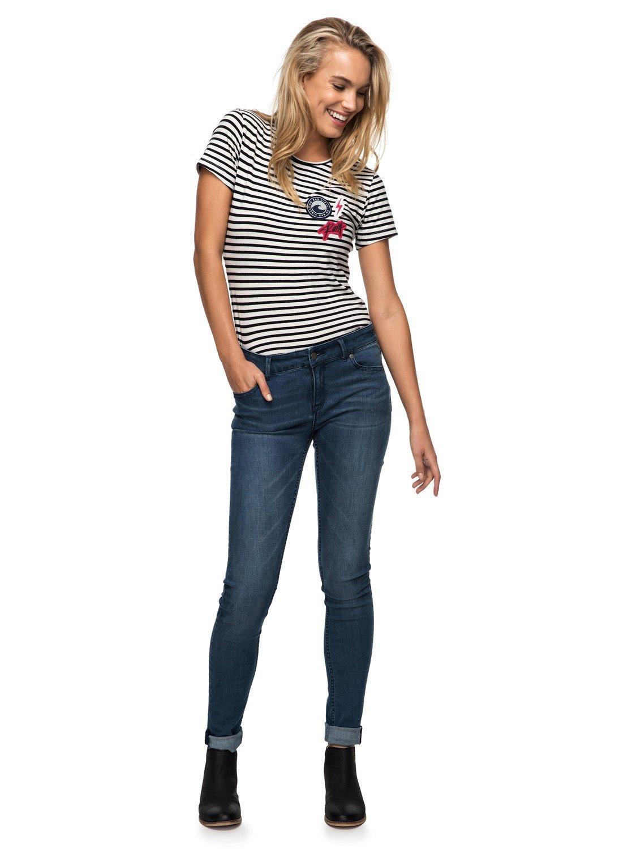Roxy Taffy Crab Patches – Camiseta para Mujer ERJZT04064