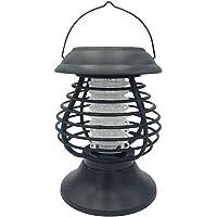 Anti Moustique Lampe Solaire Lampe Anti-Moustique UV LED Répulsif - Efficace Portée 50-60m² - Tue Mouche Electrique…
