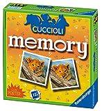 Ravensburger Italy 21188 - Gioco di Memoria Memory dei Cuccioli