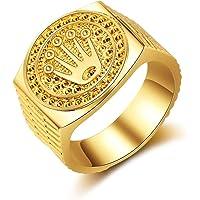Special&kind Preferred Fashion Hip Hop 18K Gold Iced Out Crown Ring für Herren Verlobung Hochzeit Party Ringe Schmuck…