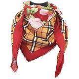 tessago foulard dis 927413 lana 100% misura cm 90 X 90 var rosso bordeaux