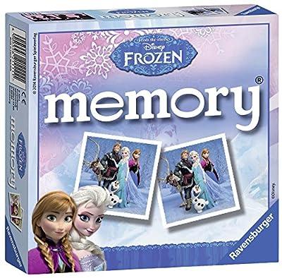 Ravensburger Disney Frozen Mini Memory Juego de emparejar Cartas - Juegos de Cartas (3 año(s), Juego de emparejar Cartas, Niño/niña, 150 mm, 40 mm, 150 mm) de Ravensburger