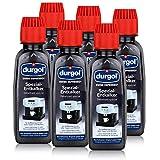 Durgol Swiss Espresso - Spezial-Entkalker - Kaffemaschinen, 6x125ml (6 Pack)