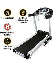 Lifelong FitPro LLTM36 Motorised Treadmill (3.0 HP Peak) with Auto Incline and Auto Lubrication, Speakers, Diet Plan, Android & IOS App, Max Speed 14km/hr (Free Installation)