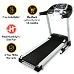 Lifelong FitPro LLTM36 Motorised Treadmill with Auto Incline and Auto Lubrication, Speakers, Diet Plan, Android & IOS App...