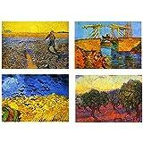 Set 4 Tovagliette Vincent Van Gogh (3° versione)