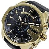 DIESEL Dz4344de bracelet de montre Cuir Noir 26mm (seulement Bracelet de montre-Montre non inclus.)