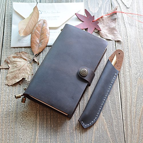 Notebook Rindsleder Notepad Tagebuch Buch