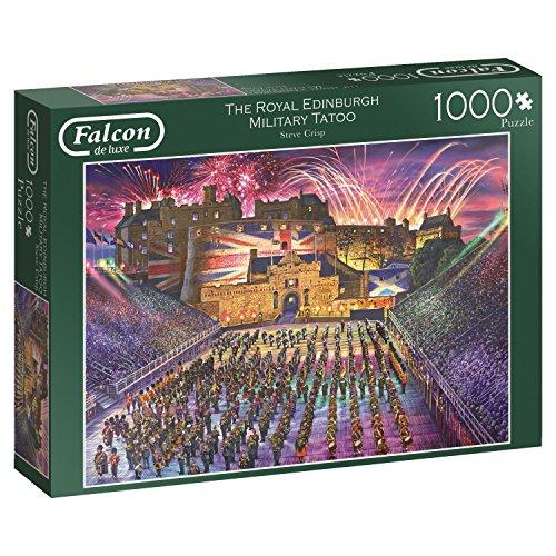 Falcon De Luxe 11220The Royal Edinburgh Military Tattoo 1000Stück Puzzle, Multi (Puzzle-stück Band)