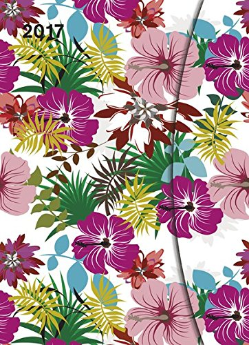 2017 Flowers Diary - teNeues Large Magneto Diary - Illustrations - 16 x 22cm por teNeues