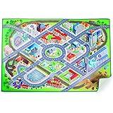 Small Foot ciudad alfombra de juegos, multicolor