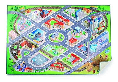 Small Foot Alfombra de juegos de ciudad, multicolor