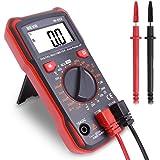 BEVA Multimetro Digitale, Mini Tester Digitale Professionale di AC/DC 4000 Conti, Rilevamento di Tensione, Corrente, Resisten