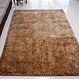 WJSWM Living Room Carpet Area Teppiche Bright Seidenfilament Line Braune Decke 120 * 170 cm Einfach Moderne Umwelt Skin-freundliche Teppiche,Metallic