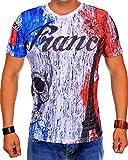 Cabin Herren Fankreich T-Shirt 703 (XXL-Slim)