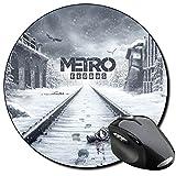 Metro Exodus Tappetino Per Mouse Tondo Round Mousepad PC