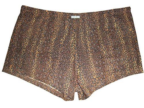 Solar Tan Thru Badehose Panty braun, Gr. 4, S