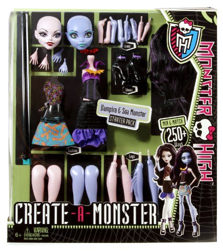 Monster High Create-A Monster Vampire Sea Monster