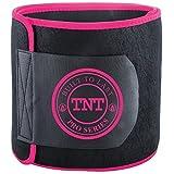 TNT Pro Series Bauchweggürtel, Hilfe Zum Abnehmen Am Bauch - Premium Bauchgürtel, Bauchtrainer, Hot Belt Als Fettverbrenner Für Bauch - Extra Breit Und 100% Latex-Frei