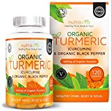 Organic Turmeric Curcumin & Black Pepper 600mg | Highest Potency Available | 120 Clear Veg Capsules (Suitable For Vegetarians) | SOIL ASSOCIATION Organic Certified & Made in the UK