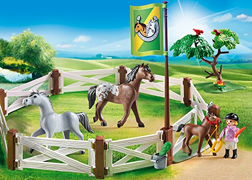 Playmobil Country 2pcs  Set 6931 6932 paddock   horse-drawn carriage