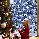 Schneeflocken Aufkleber, Fensterbilder Weihnachtsdeko Tolle Fensterdeko Abziehbilder für Weihnachten, Christbaumschmuck,Winter Dekoration, Abnehmbare Fensterdeko Statisch Haftende Pvc Aufkleber Weiß. für Schneeflocken Aufkleber, Fensterbilder Weihnachtsdeko Tolle Fensterdeko Abziehbilder für Weihnachten, Christbaumschmuck,Winter Dekoration, Abnehmbare Fensterdeko Statisch Haftende Pvc Aufkleber Weiß.