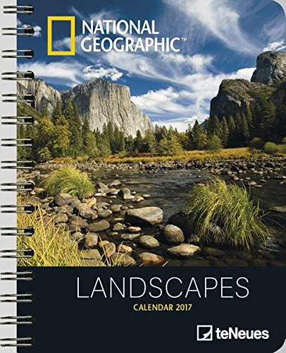 National Geographic: Landscapes 2017 Buchkalender Deluxe