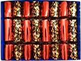The Golden Birds of Christmas - Black and Red with Gold Fill Your Own Christmas Crackers by Crackers Ltd (Cat F1)