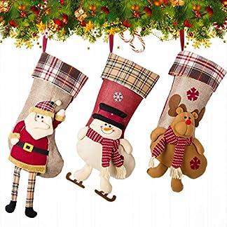 NONZERS Calcetin de Navidad