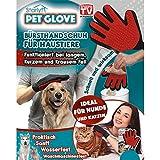 Starlyf, Pet Glove, guanto spazzola per animali domestici come cani, gatti e conigli, originale della pubblicità televisiva!