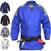 Valor Bravura Kimono de jiu-jitsu brésilien bleu avec ceinture blanche incluse