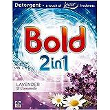 Bold 2en 1Bio Lessive en poudre lavande et camomille 40lavages 2.6kg