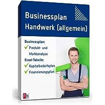 Businessplan Handwerk (allgemein) [Zip Ordner]