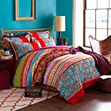 Best FADFAY Beddings - FADFAY Colorful Bohemian Duvet Covers Queen King Size Review