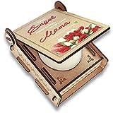 FANS & Friends Geschenk-Box mit Botschaft & Kerze | Geschenk für Mama zu Weihnachten | Engel ohne Flügel nennt Man Mama | Dankeschön für Alles