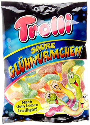 Trolli Saure Glühwürmchen, 18er Pack (18 x 200 g)