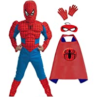 Super Hero Muscle Fancy dress Costumes for Kids (Plz see the size in dropdown