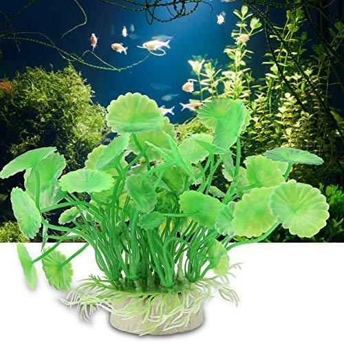 Pbzydu Aquarium Kunststoff lebendige künstliche Wasserpflanze, Ornament für Unterwasser Aquarium Garten Länder -