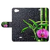 B2Ctelecom Housse pour Wiko Pulp Fab 4G Compartiments de Stockage Orchidée