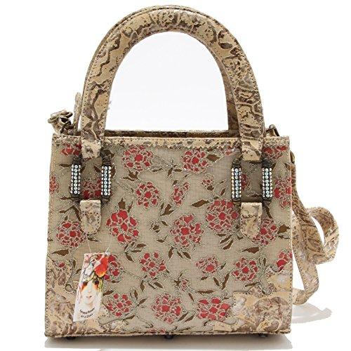 8691L borsetta tracolla donna FERNANDO PENSATO borse bags women Beige