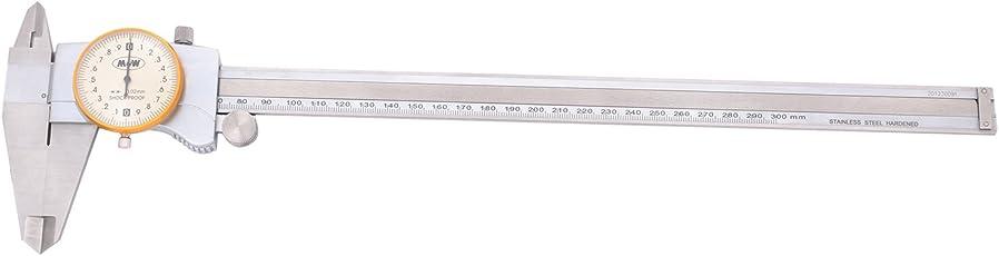 MGW Precision DC300 Dial Caliper 300mm, Silver