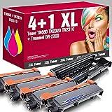 4 Kompatible Toner TN-2320 mit 1x Trommel DR-2300 für Brother DCP-L2500D DCP-L2500 DCP-L2520DW DCP-L2540DN DCP-L2560CDN DCP-L2560CDW DCP-L2560DN DCP-L2560DW DCP-L2560 DCP-L2700DW HL-L2300D HL-L2300 HL-L2320D HL-L2321D HL-L2340DW HL-L2360DN HL-L2360DW HL-L2361DN HL-L2365DW HL-L2380DW MFC-L2700DN MFC-L2700 MFC-L2701 MFC-L2701DW MFC-L2703DW MFC-L2720DW MFC-L2740CW MFC-L2740DW ms-point®