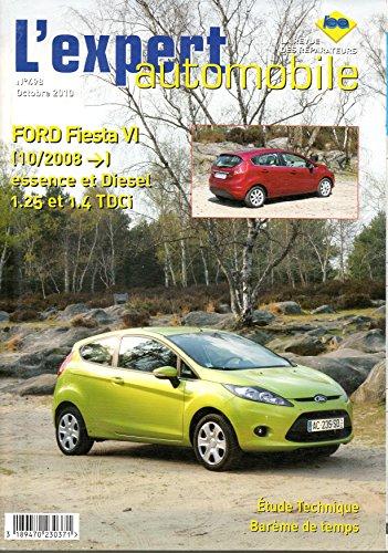 Revue technique FORD FIESTA VI Depuis 10/2008 Essence et Diesel 1.025 et 1.4 TDCi LEA498 – Octobre 2010