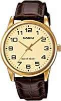 Casio Enticer Analog Gold Dial Men's Watch-MTP-V001GL-9BUDF (A1086)